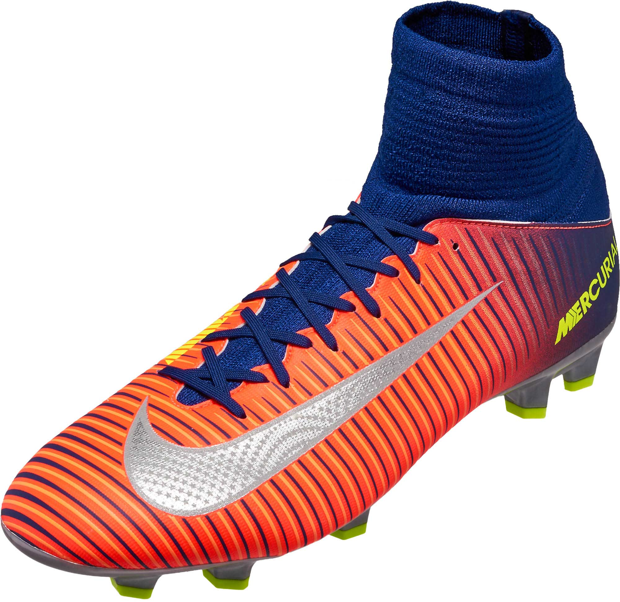 ccf47e0de9a7 Nike Kids Mercurial Superfly V FG – Deep Royal Blue Chrome