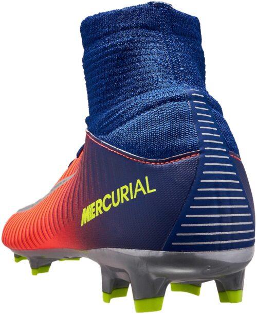 Nike Kids Mercurial Superfly V FG – Deep Royal Blue/Chrome