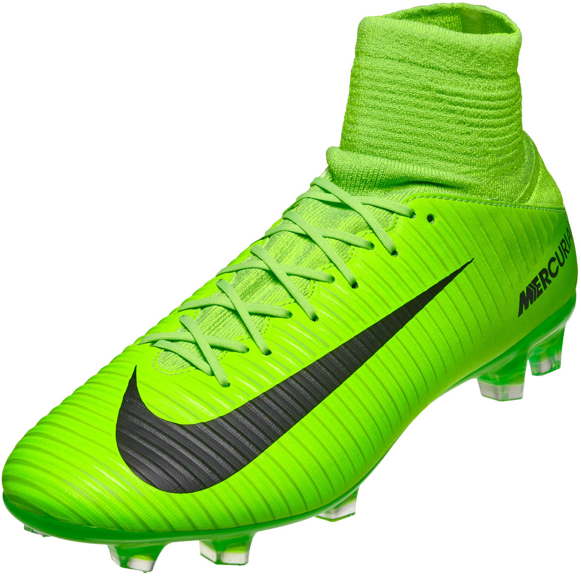 653033fdab3 Nike Mercurial Veloce III DF FG – Electric Green Flash Lime