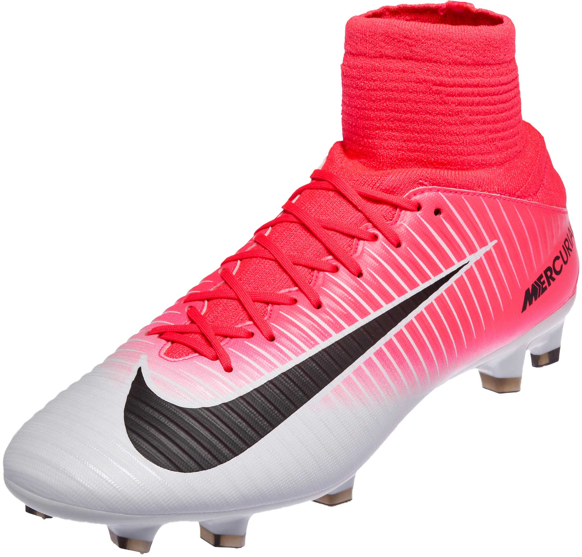 Nike Mercurial Veloce lll FG - Pink Soccer Cleats