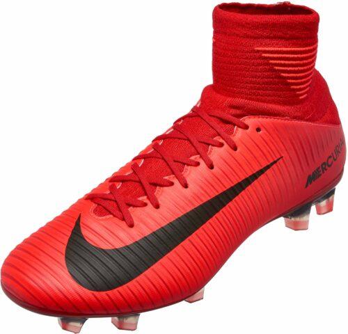 Nike Mercurial Veloce III DF FG – University Red/Black