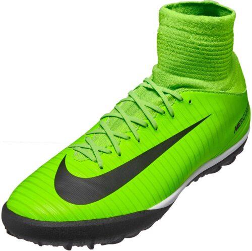 Nike Kids MercurialX Proximo II TF – Electric Green/Ghost Green