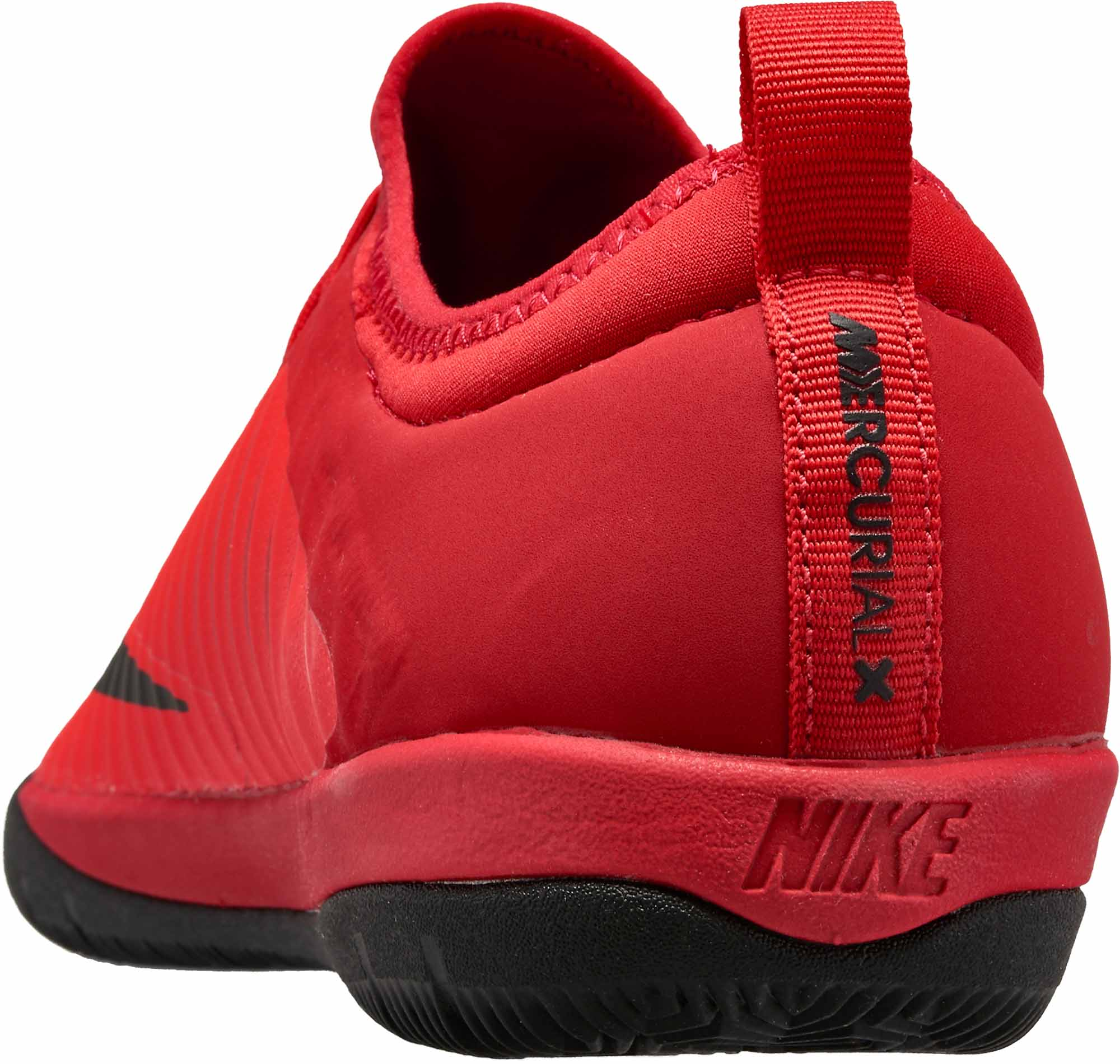 brand new 329fe 33e87 Nike MercurialX Finale II IC - Red Indoor Soccer Shoes