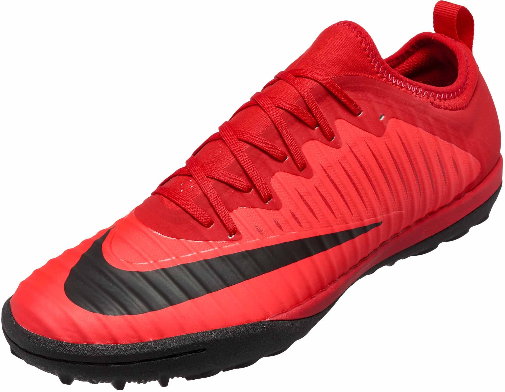 Nike MercurialX Finale II TF University Red & Black