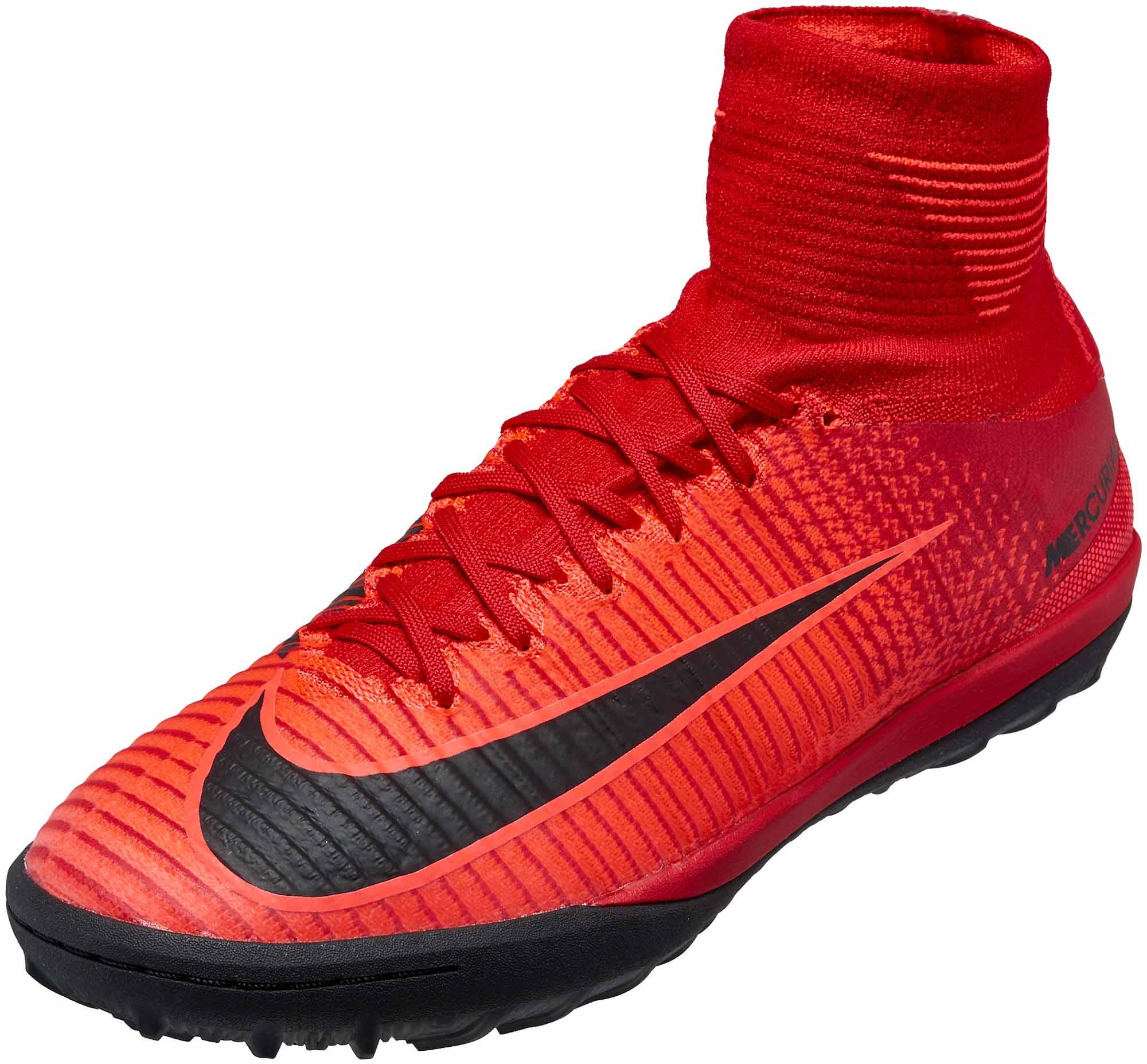big sale 4de0b 75e98 Nike MercurialX Proximo II TF - University Red & Black