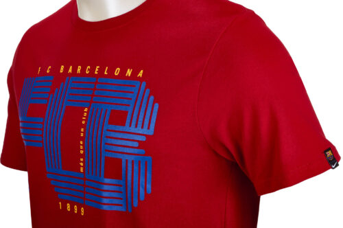 Nike Barcelona Squad Tee – Gym Red