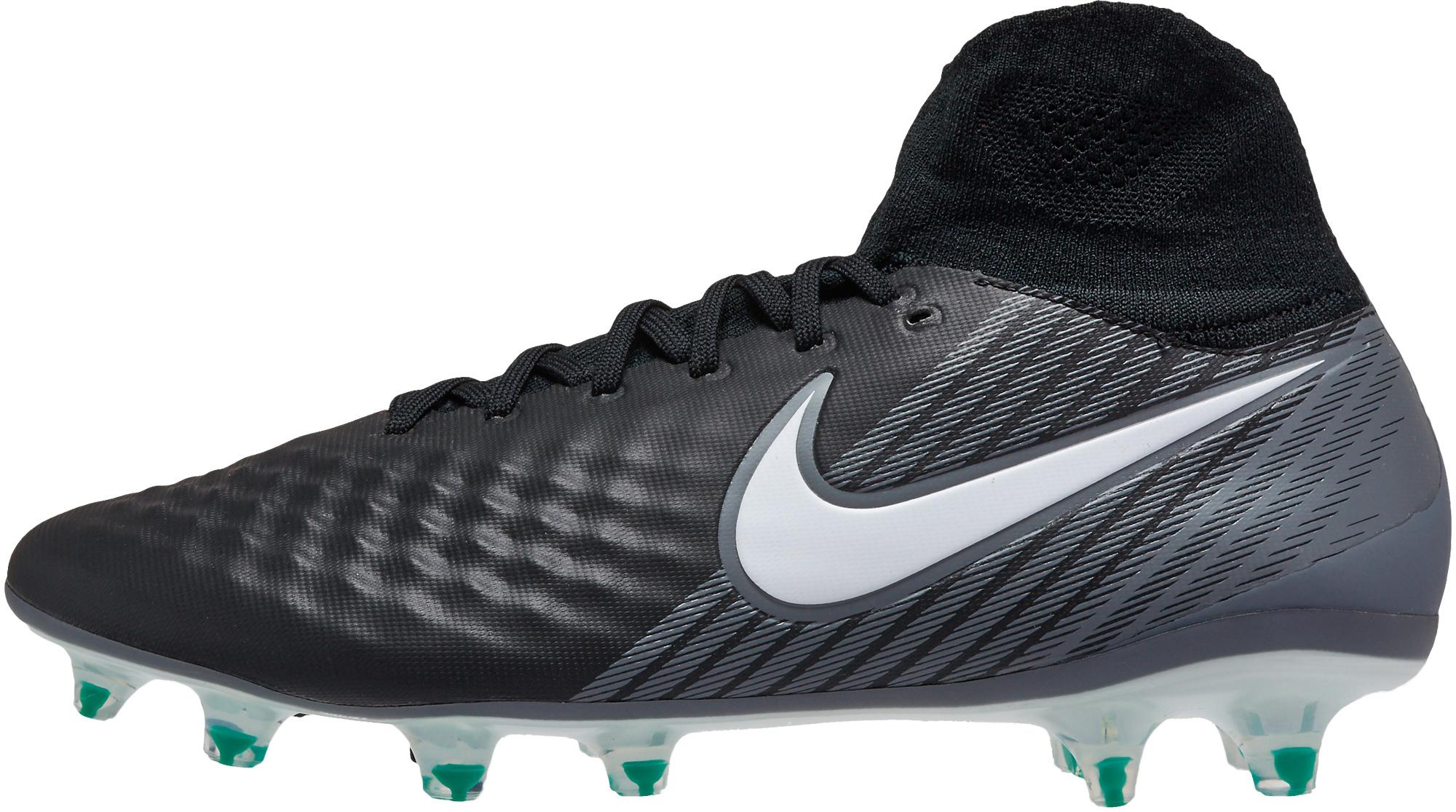 Nike Magista Orden II FG - Black and White Magista Soccer ...