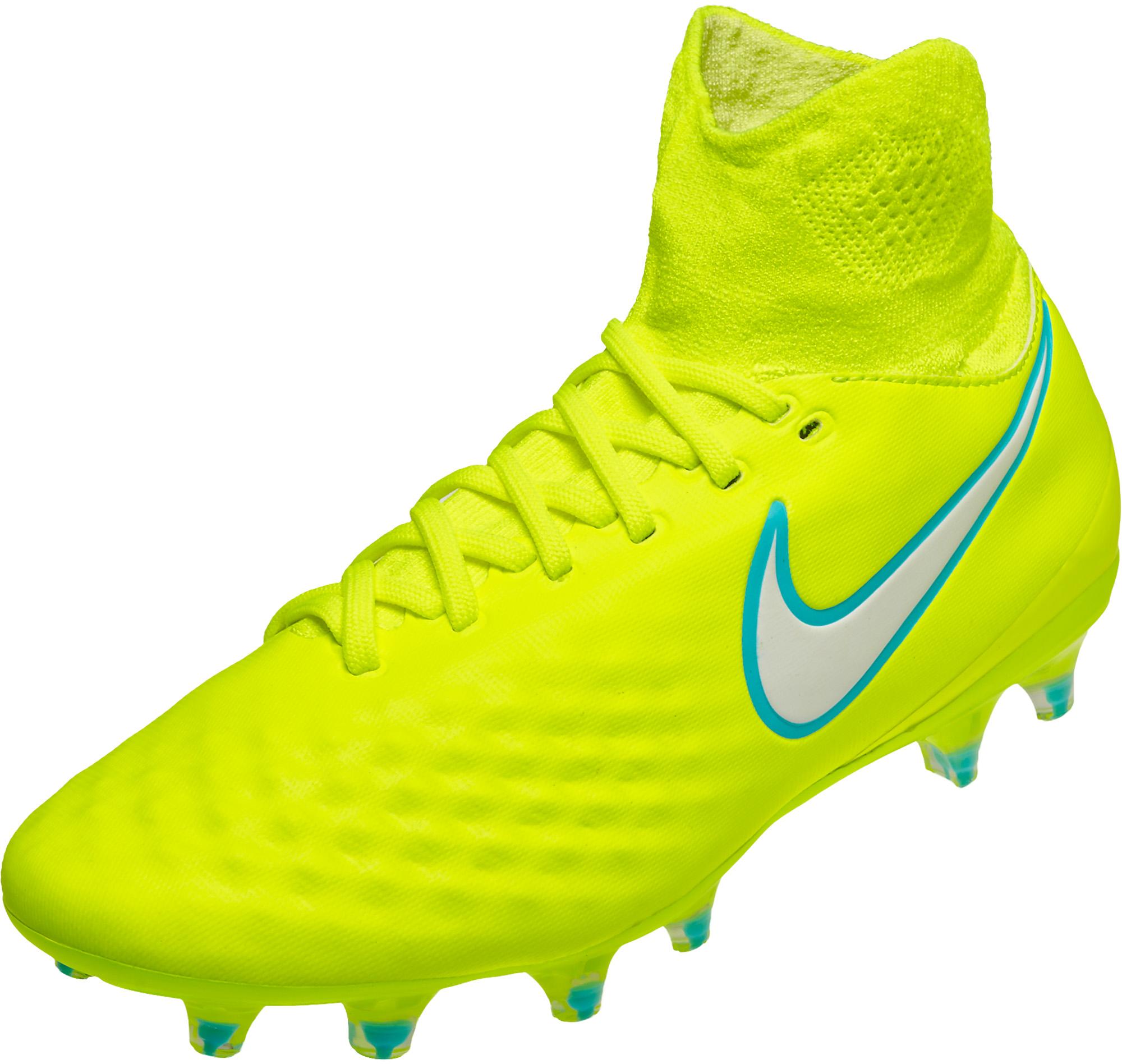 622acdb0184 Nike Womens Magista Orden II FG – Volt/White