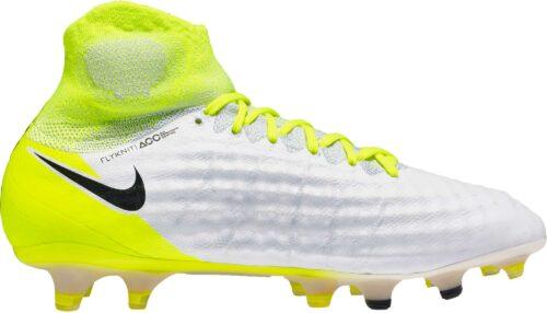 Nike Magista Obra II FG – White/Volt