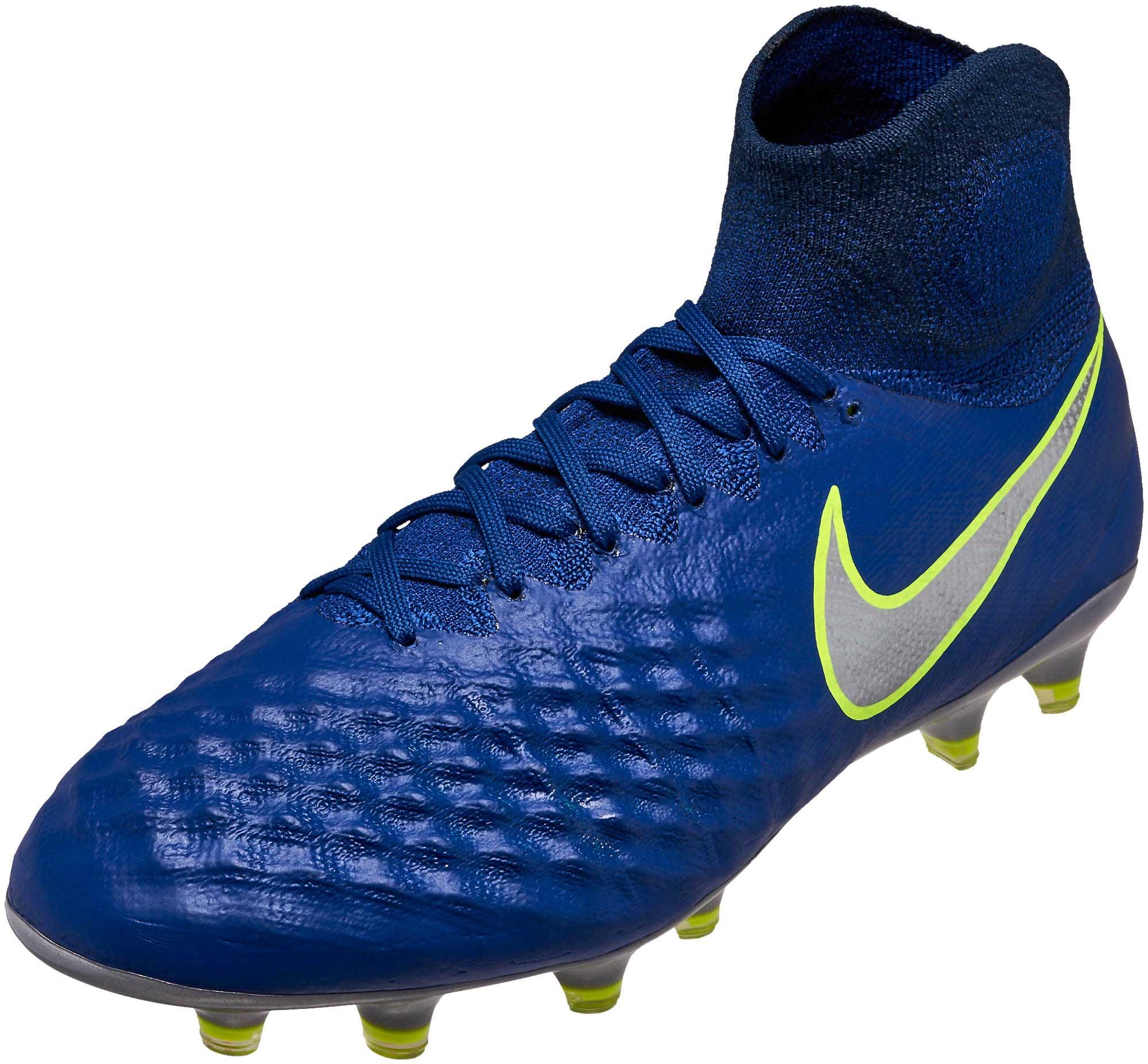 Nike Magista Obra II FG - Deep Royal Magista Soccer Cleats b63085d4f5019
