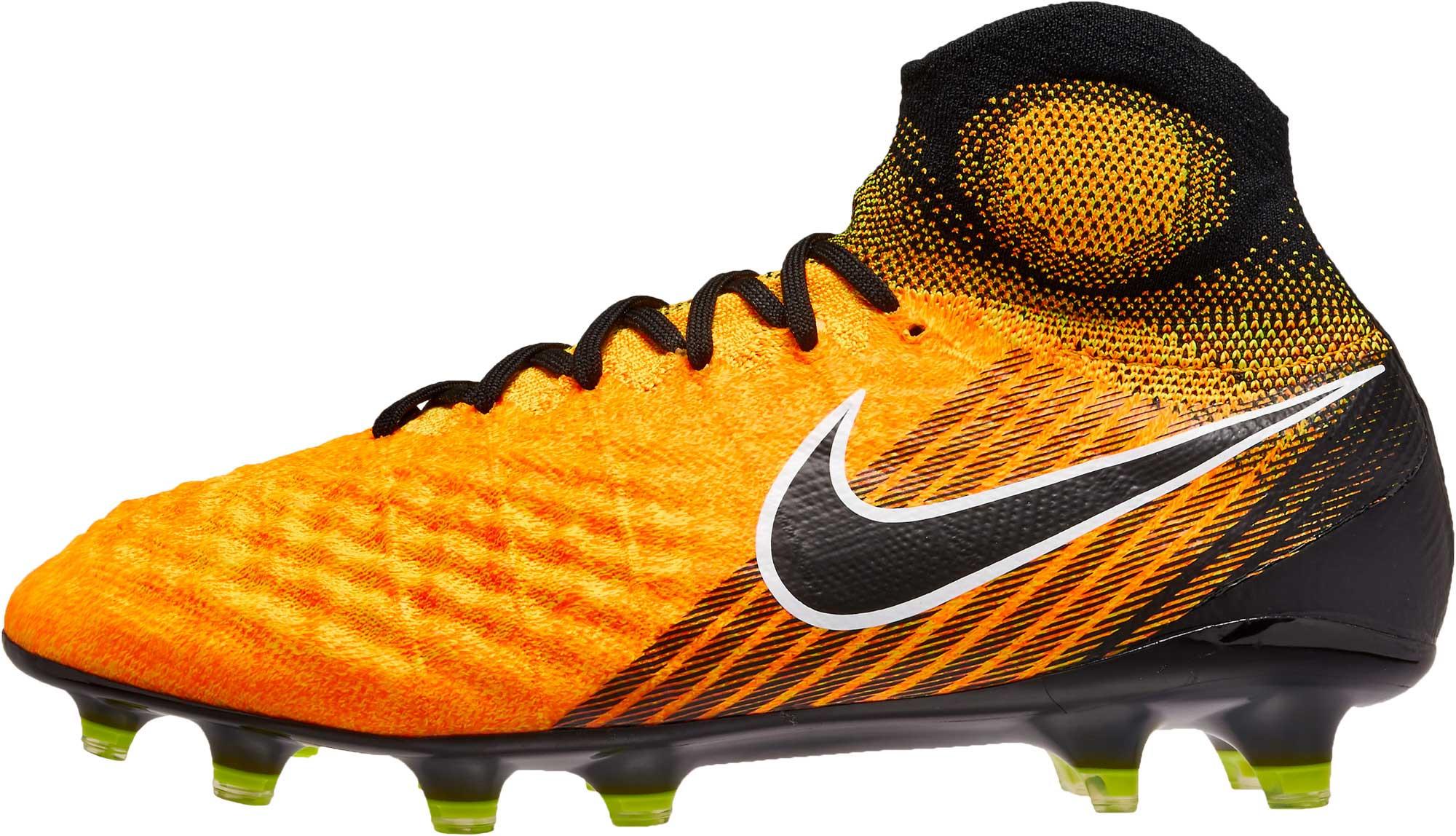 Palabra Palmadita Aburrido  Nike Magista Obra II Soccer Cleats - Orange Obra Cleats