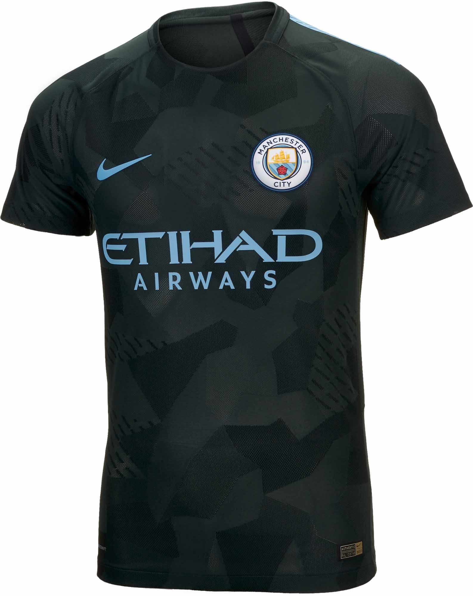 2017/18 Nike Manchester City Match 3rd Jersey