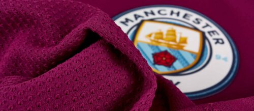Nike Manchester City Away Match Jersey 2017-18 NS