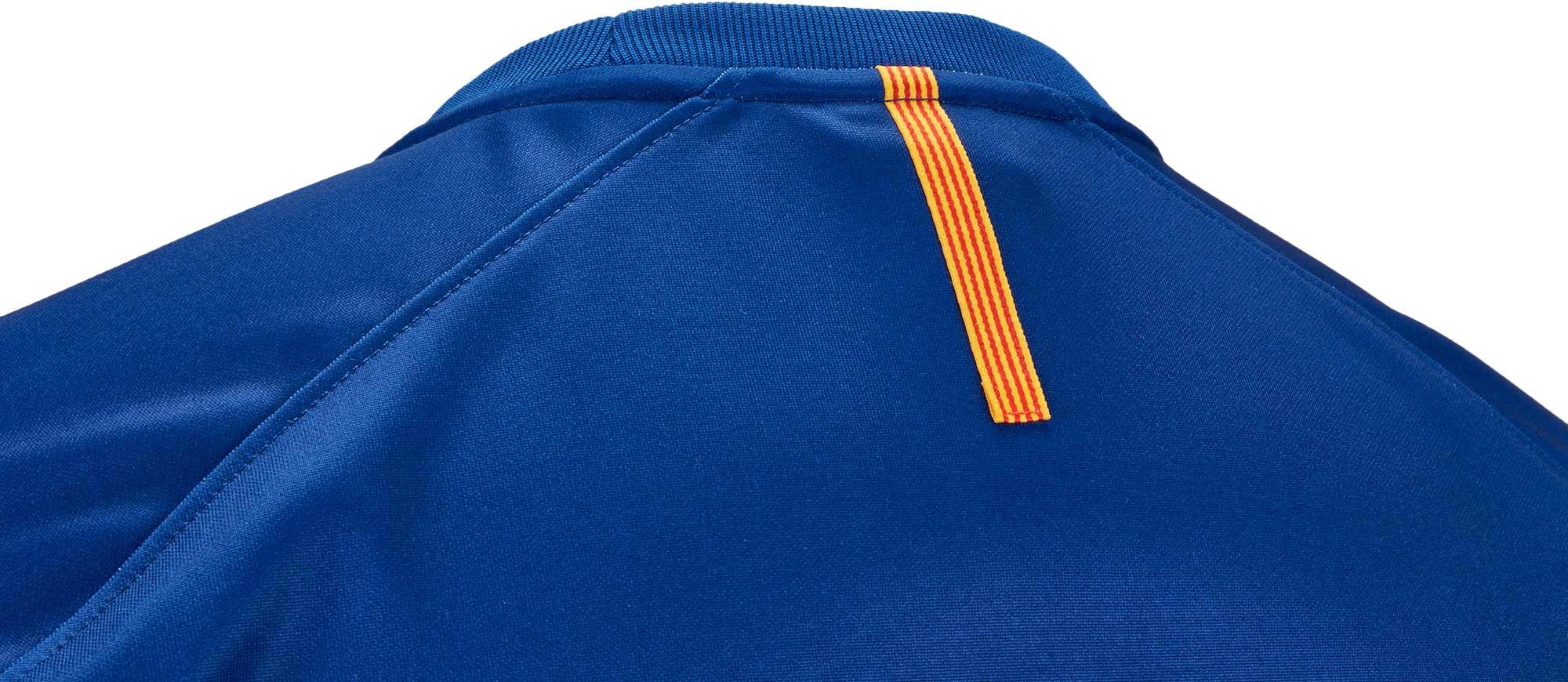 Nike barcelona training top nike barcelona shirts for Blue barcelona