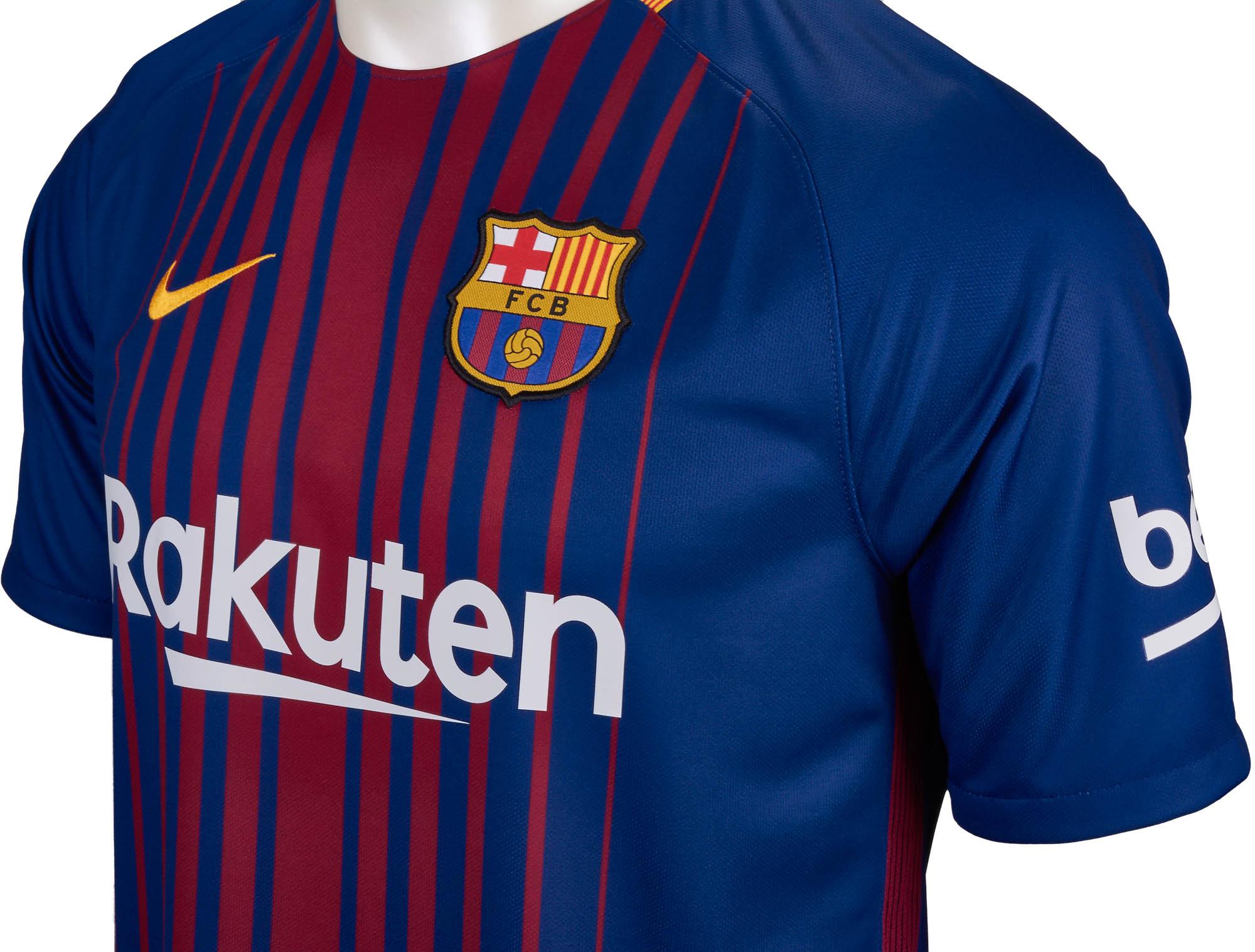 new arrival e7296 37c94 Nike Barcelona Home Jersey - 2017/18 Barcelona Jerseys
