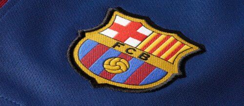 Nike Barcelona Home Short – Deep Royal Blue/University Gold