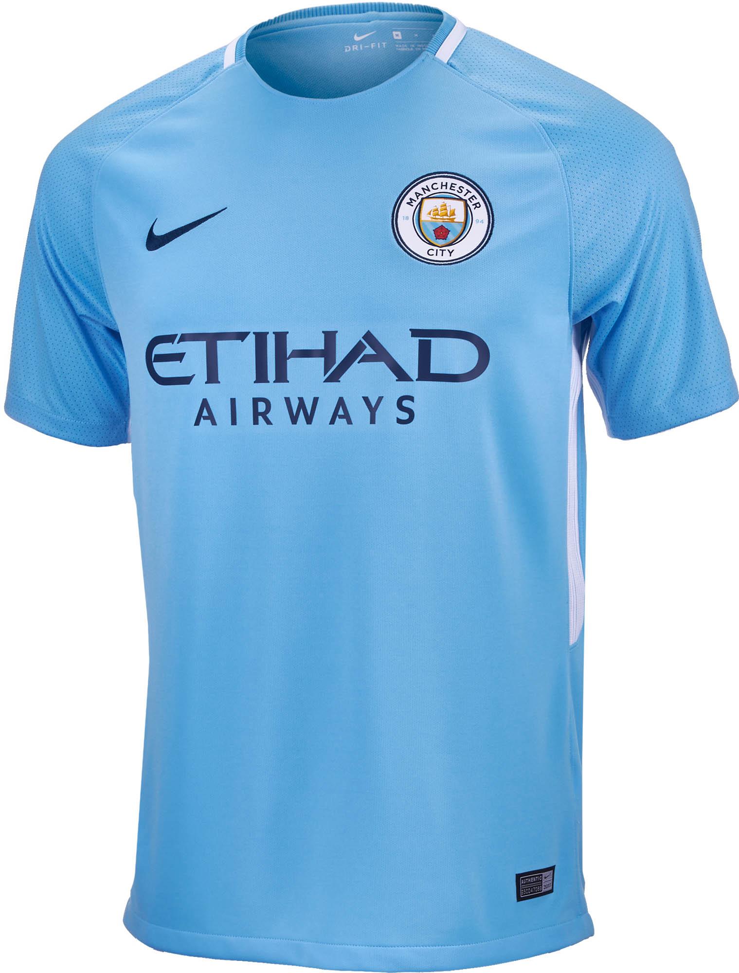 Nike Manchester City Home Jersey- 17/18 Man City Jersey