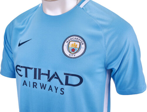 Nike Manchester City Home Jersey 2017-18 NS