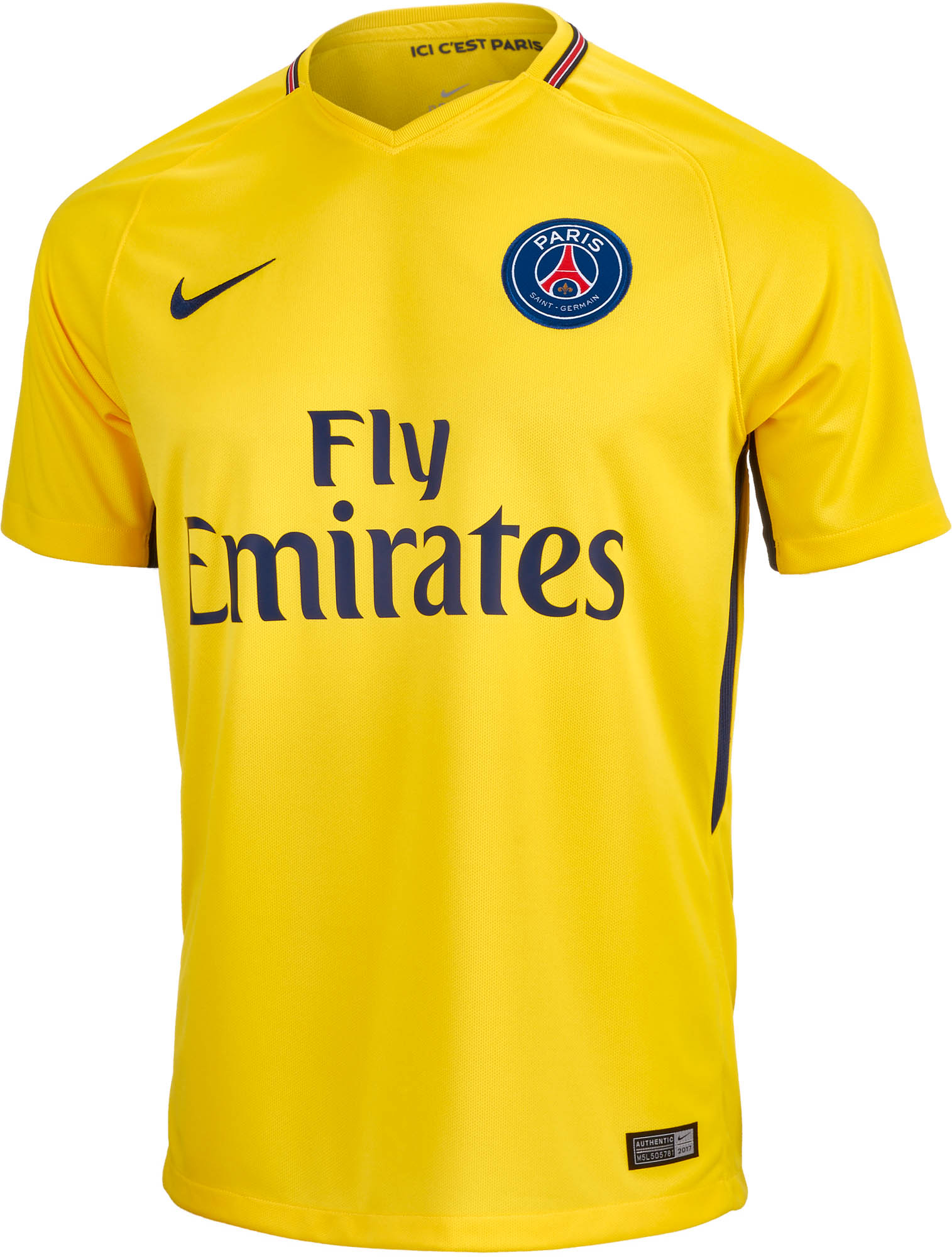 official photos fdf43 0111a Nike PSG Away Jersey 2017-18