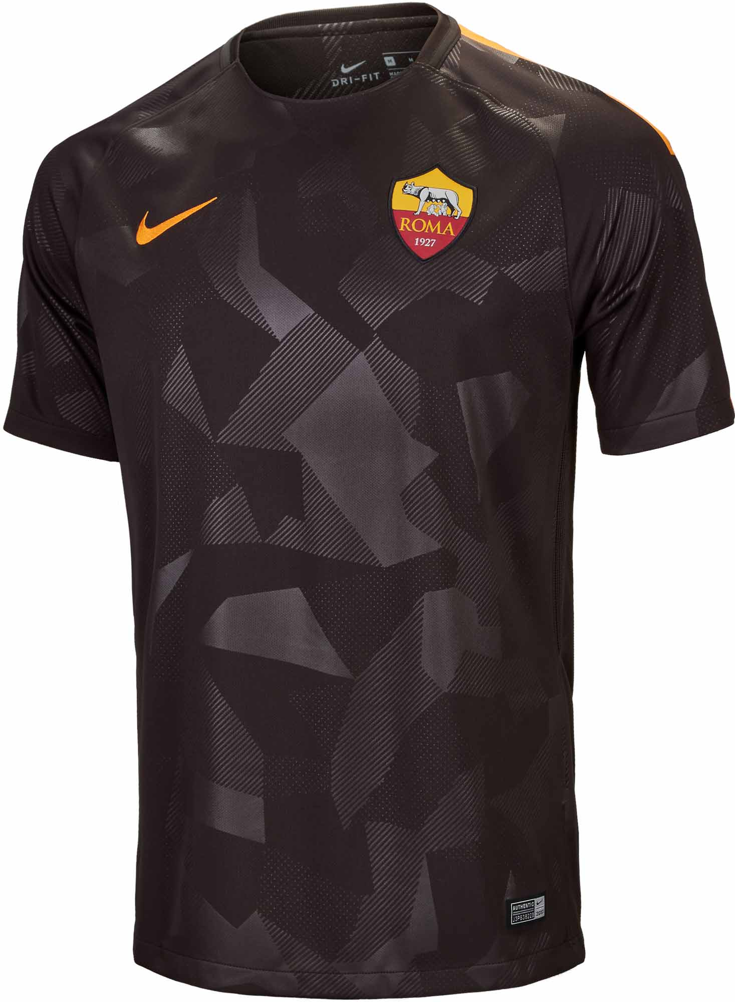 wholesale dealer a5aeb 94c62 Nike AS Roma 3rd Jersey 2017-18