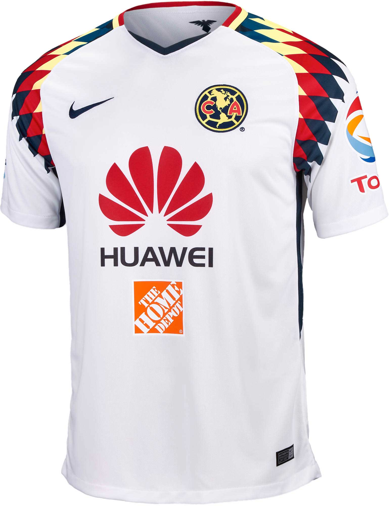 more photos 3fb22 067cf Nike Club America Away Jersey 2017-18