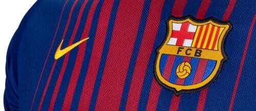 Nike Kids Barcelona Home Jersey 2017-18 NS