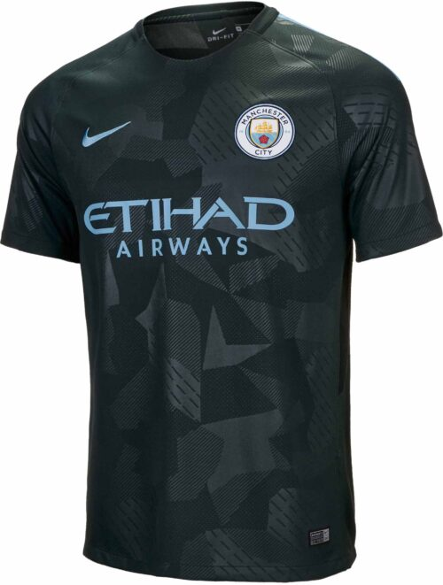 Nike Kids Manchester City 3rd Jersey 2017-18 NS