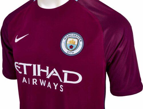 Nike Kids Manchester City Away Jersey 2017-18