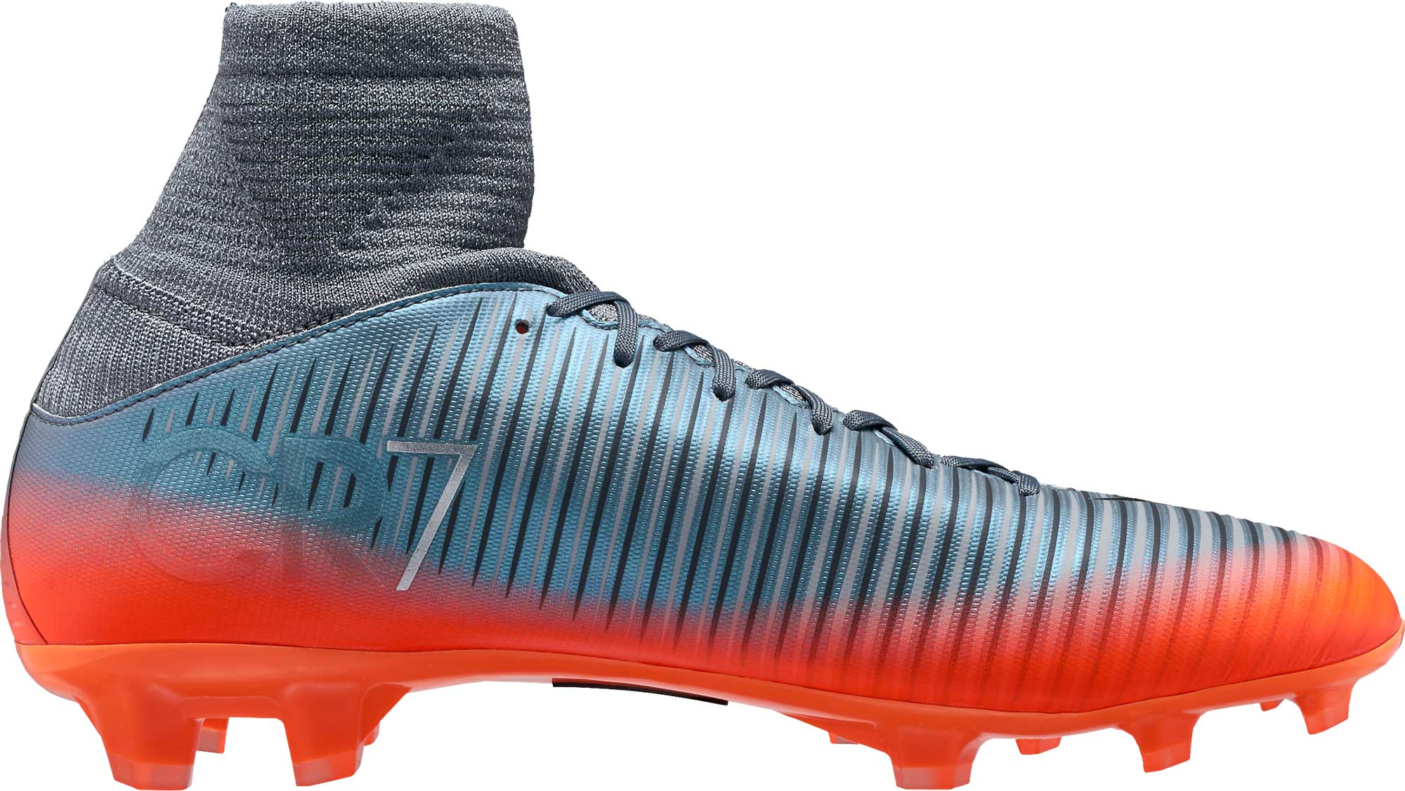 e103bf0f13a0e Nike Kids Mercurial Superfly V FG – CR7 – Cool Grey Metallic Hematite