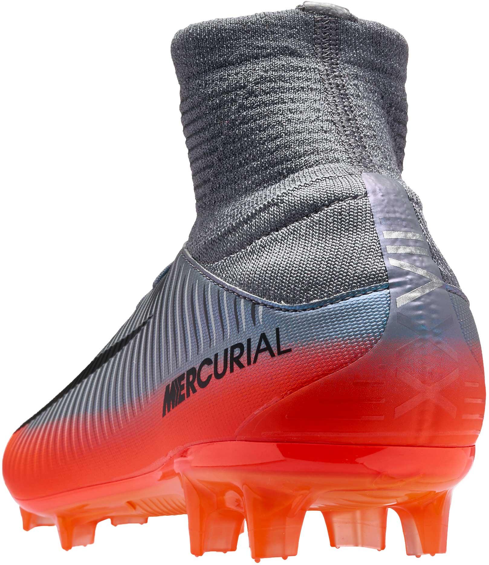 finest selection 97e11 b1cc0 Nike Mercurial Veloce III DF FG – CR7 – Cool Grey Metallic Hematite