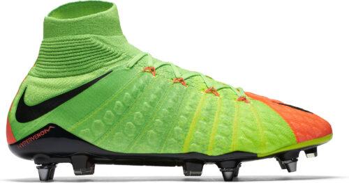 Nike Hypervenom Phantom DF III SG-Pro – Electric Green/Hyper Orange