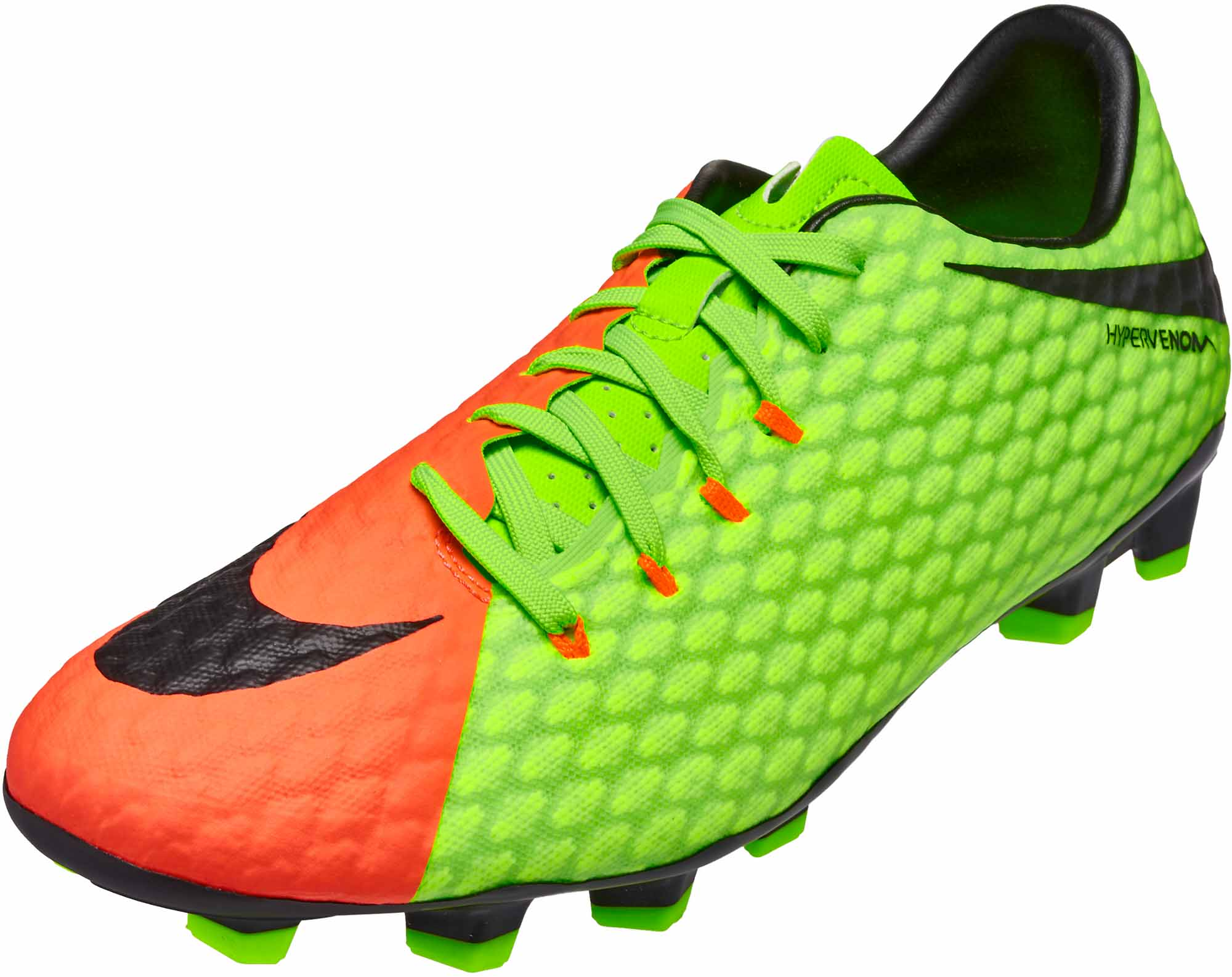 b9c131ca606 Nike Hypervenom Phelon III FG - Electric Green Hypervenom Phelon Cleats