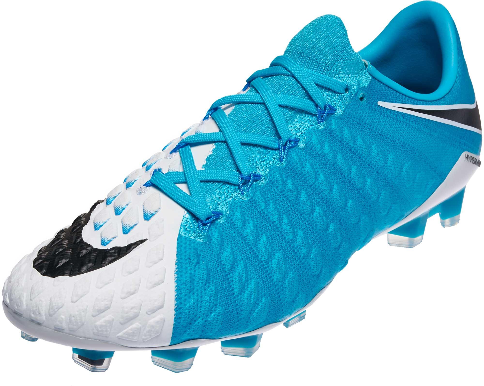 5e1f8232f07 Nike Hypervenom Phantom III FG - White Soccer Cleats