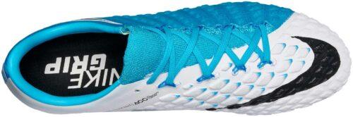 Nike Hypervenom Phantom III FG – White/Photo Blue