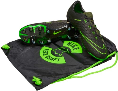 Nike Hypervenom Phantom III FG – Tech Craft – Black/Sequoia