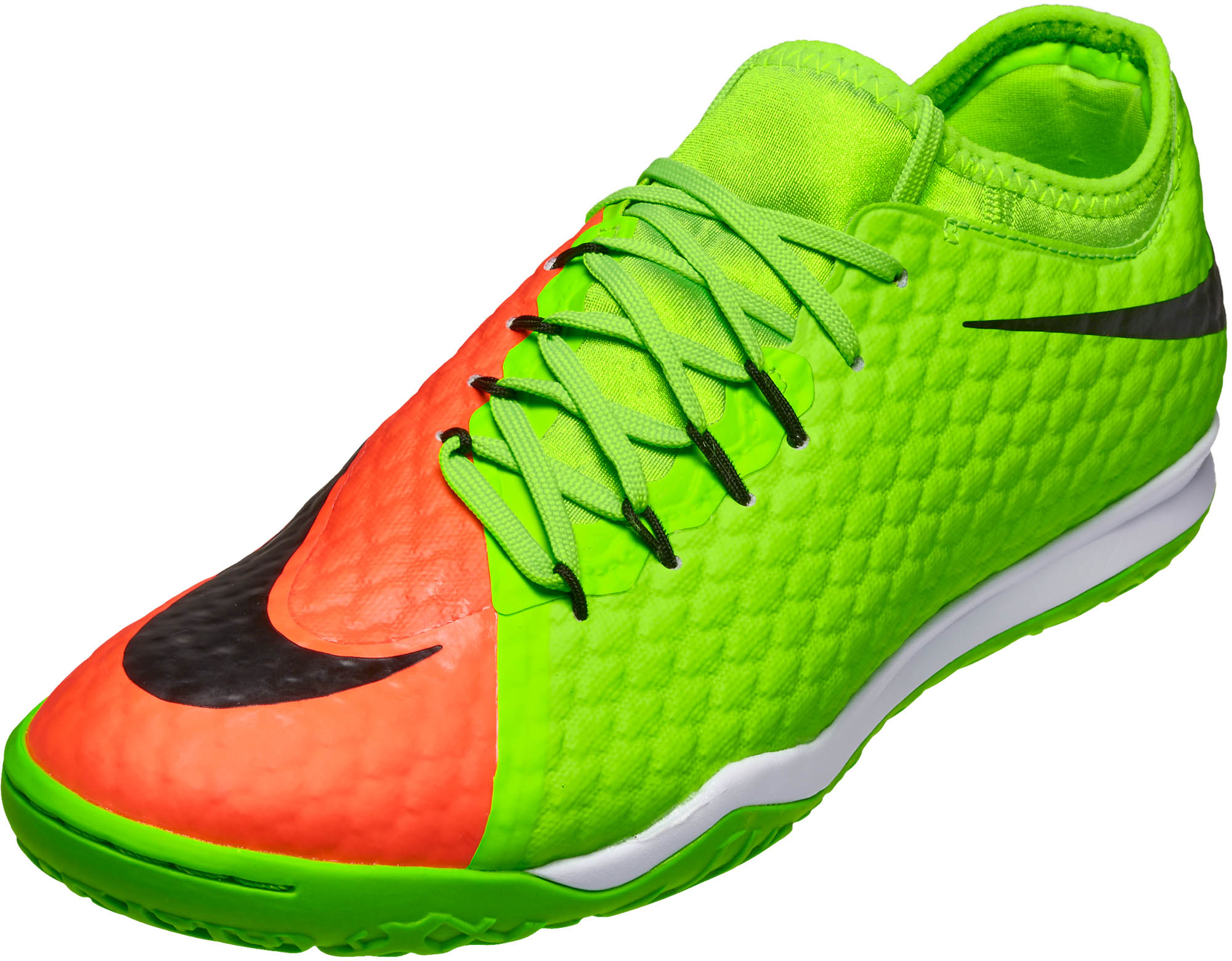 official photos 3bd5c e5c59 Nike HypervenomX Finale II IC – Electric Green/Hyper Orange