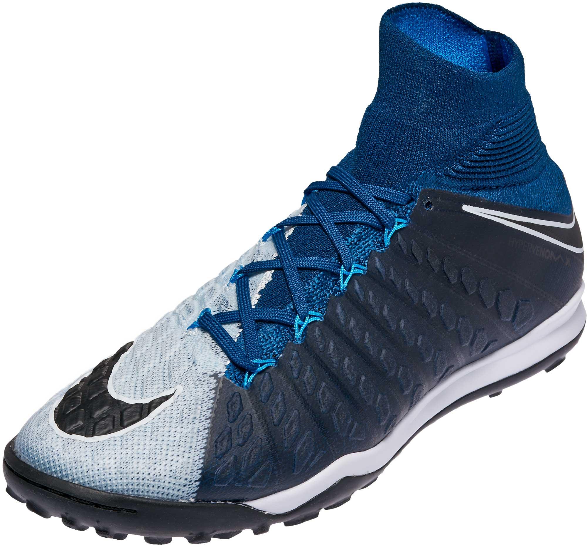 7e57c1f96b96 Nike HypervenomX Proximo II DF TF – Brave Blue Black