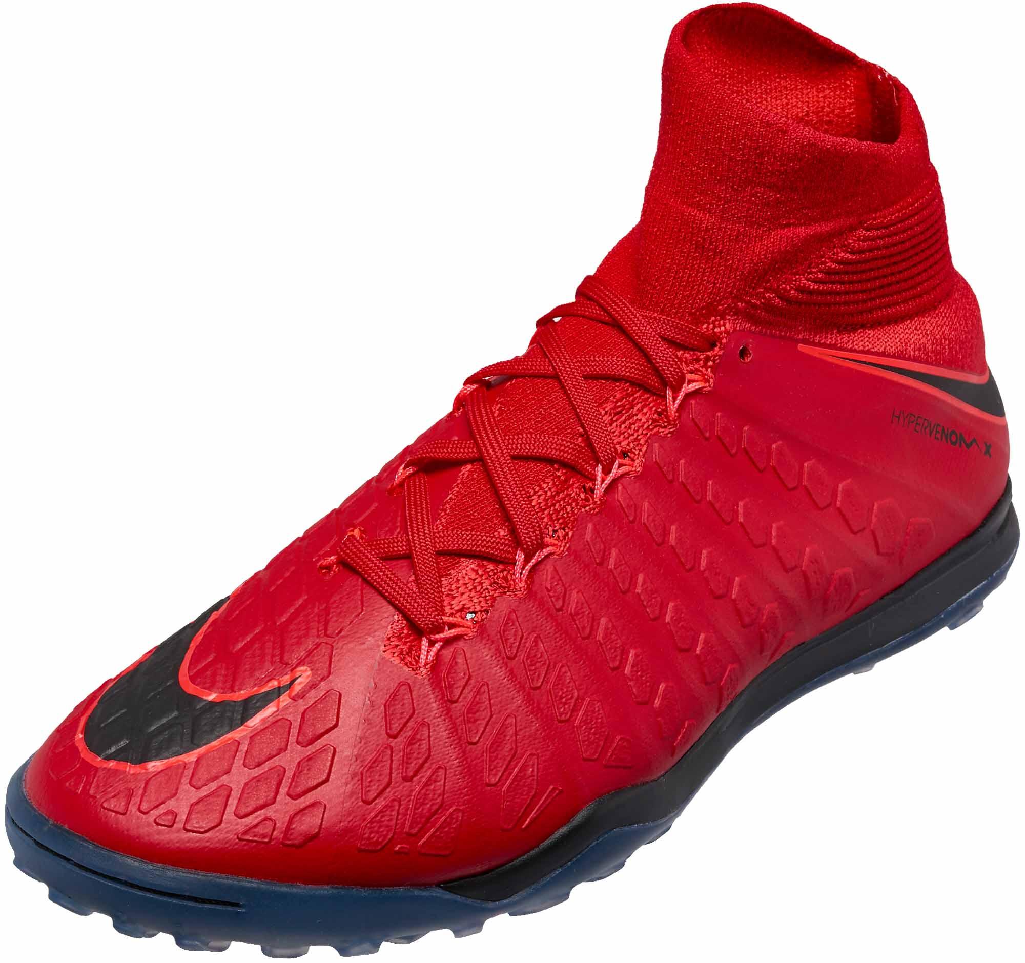 Nike HypervenomX Proximo II DF TF Nike HypervenomX Proximo II DF TF - University Red