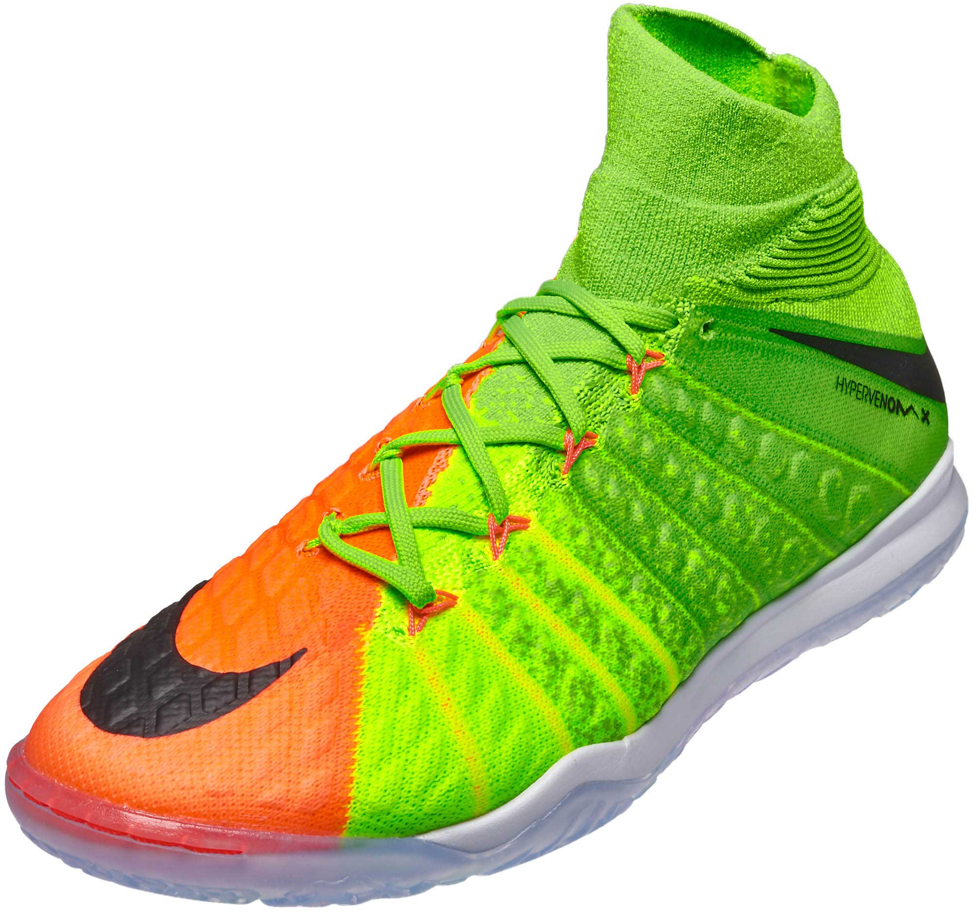 newest 2cc75 ec356 nike hypervenom indoor green