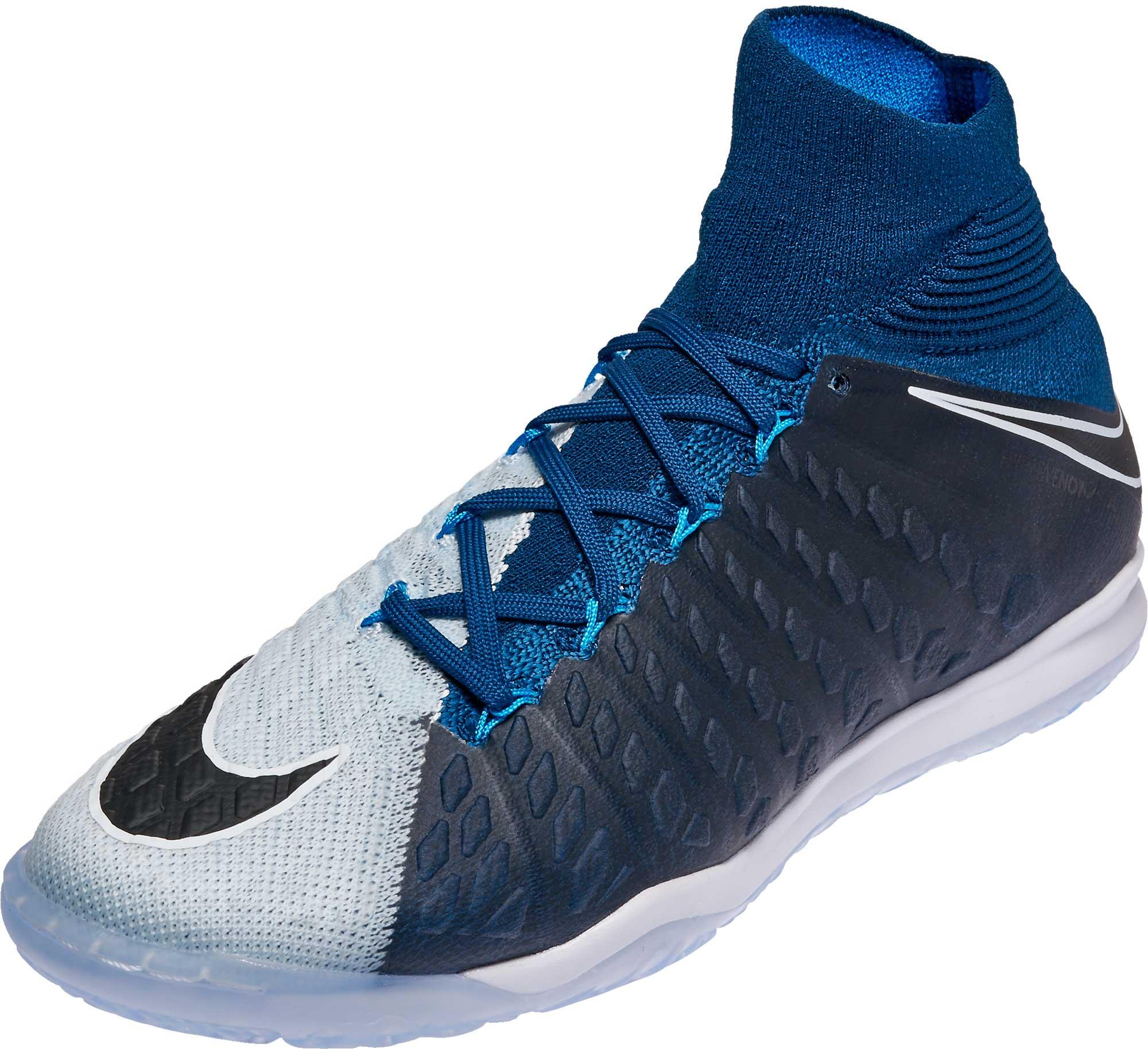 900a5b8b1 Nike HypervenomX Proximo II DF IC – Brave Blue Black