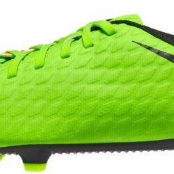 c7bc7f66405 Nike Kids Hypervenom Phade III FG – Electric Green Hyper Orange