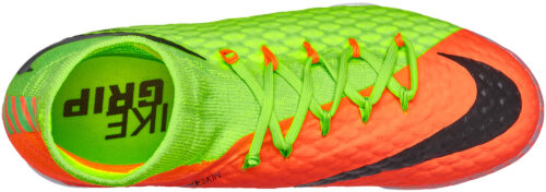 Nike Kids HypervenomX Proximo II TF – Electric Green/Hyper Orange