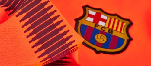 Nike Kids Barcelona Drill Top – Hyper Crimson/Night Maroon