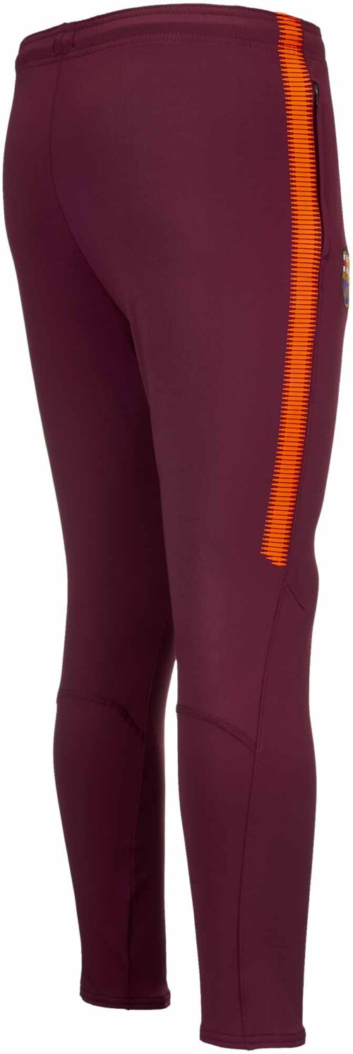 Nike Kids Barcelona Training Pants – Night Maroon/Hyper Crimson