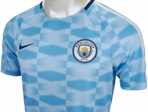 Nike Kids Manchester City Training Top – Field Blue/White