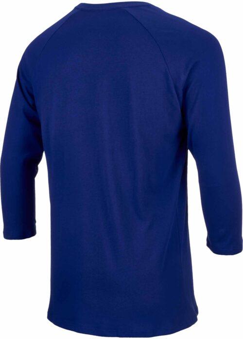 Nike Barcelona Raglan 3/4 Sleeve Tee – Deep Royal Blue