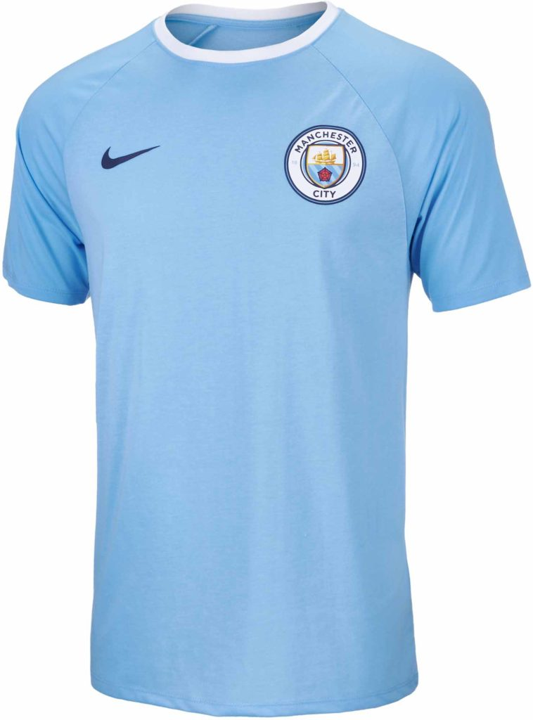 Nike Manchester City Match Tee – Field Blue/White