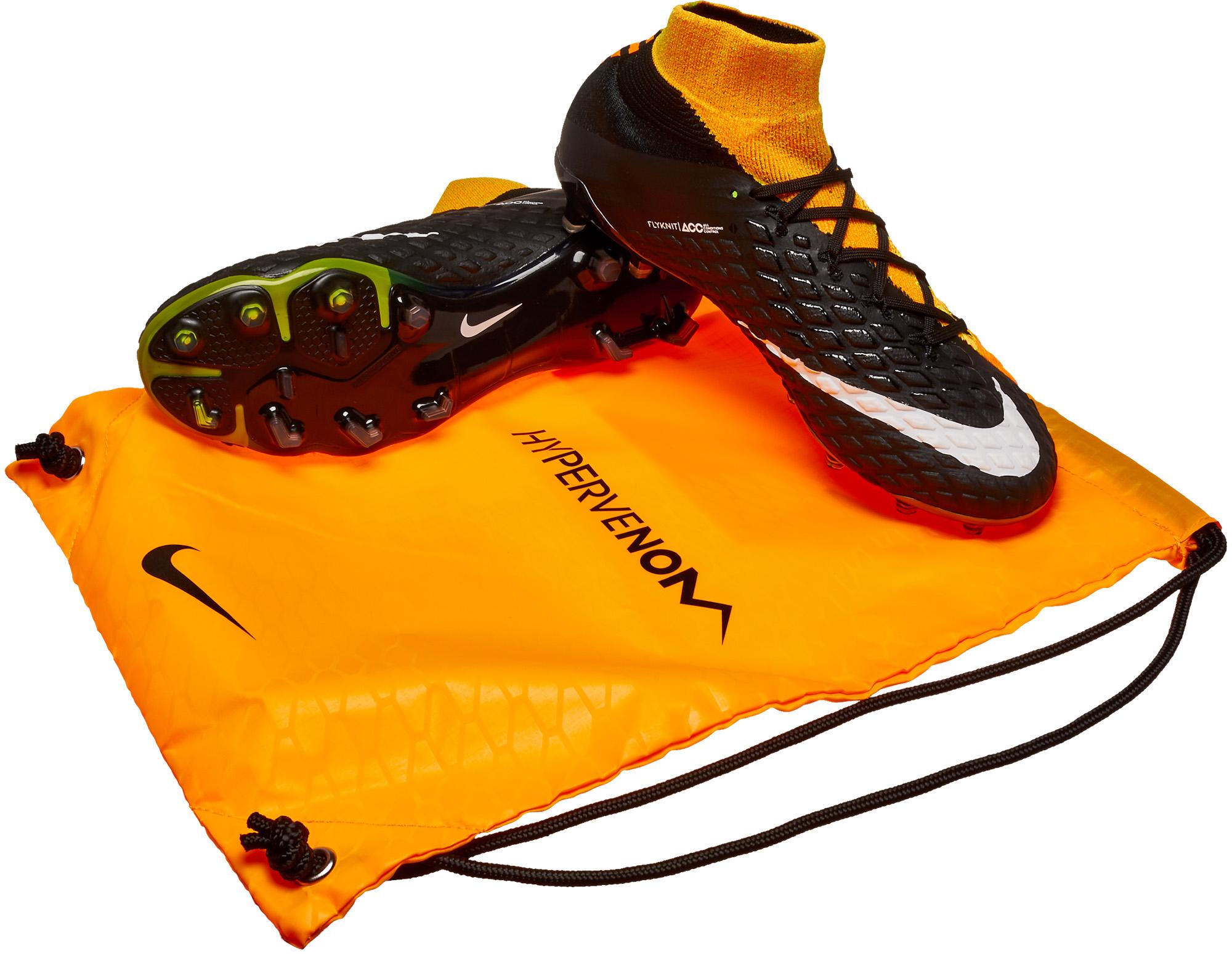 sports shoes df962 888dc Nike Hypervenom Phantom III DF FG – Laser Orange Black