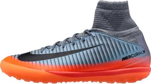 Nike Kids MercurialX Proximo II TF – CR7 – Cool Grey/Metallic Hematite