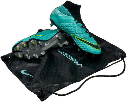 Nike Womens Hypervenom Phantom III DF FG – Light Aqua/White